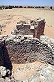 Castra Gholaia - Bu Njem, Blick über die Porta praetoria nach Norden.jpg