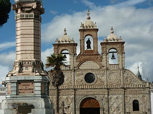 Riobamba - Image: Catedral Riobamba