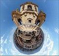 Catedral de Murcia - Vista Sur desde el balcón de los conjuratorios. Panorámica polar.jpg