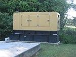 Emergency backup diesel generator