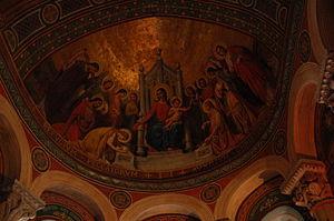 Agen Cathedral - Image: Cathédrale Saint Caprais Agen Interieur 2