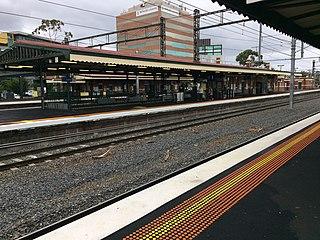 Caulfield railway station Railway station in Melbourne, Australia