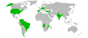 Aníbal Cavaco Silva - Foreign trips of Cavaco Silva.