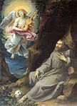 Cavalier d'Arpino - St Francis Consoled by an Angel - WGA04698.jpg