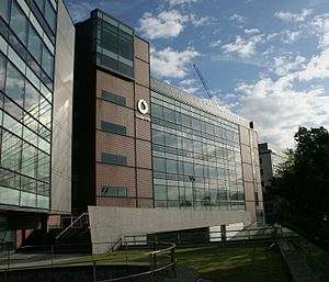 Vodafone - The headquarters of Vodafone Ireland in Dublin
