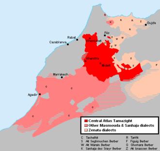 Central Atlas Tamazight - Image: Central Atlas Tamazight EN