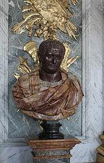 Château de Versailles, galerie des glaces, buste d'empereur romain 03 (Titus).jpg