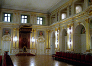 Chamber of Polish Senate in Warsaw Royal Castle