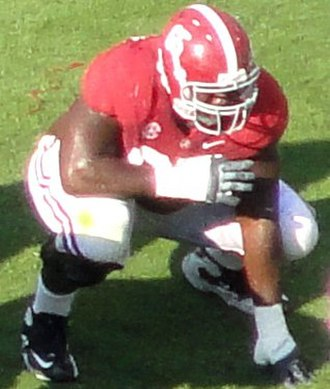 2012 College Football All-America Team - Chance Warmack of Alabama