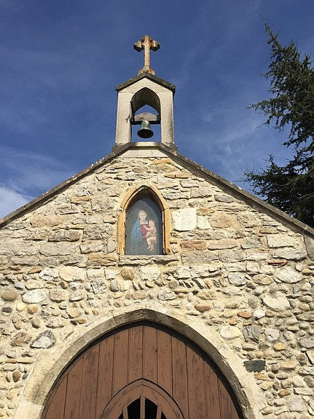 Chapelle de Sainte-Julie, Ain.