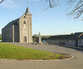 Chapois, Belgium - Image: Chapois Church