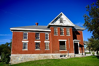 National Register of Historic Places listings in Chariton County, Missouri - Image: Chariton County Jail and Sheriff's Residence