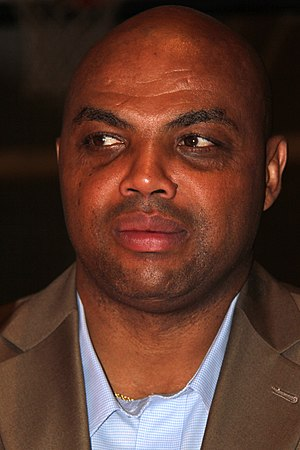 Charles Barkley - Barkley at the 2010 NBA Hall of Fame induction
