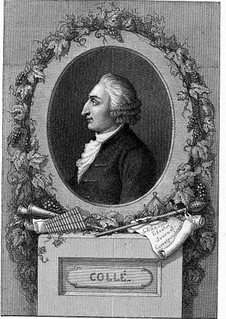 Charles Collé - Anonymous 18th-century engraving.
