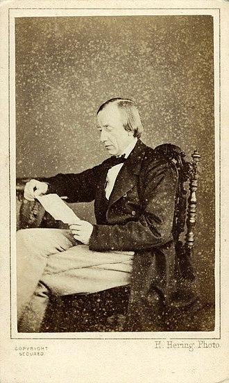 Charles Hallé - Charles Hallé by H. Hering