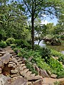 Charming steps at Pugh's Mill, aka The Old Mill, North Little Rock, AR.jpg