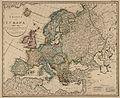 Charte von Europa nach den neuesten astronomichen Bestimmungen und dem jetzigen bestande der staaten entworfen von - no-nb krt 00168.jpg