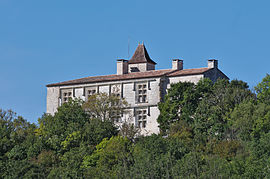 The chateau in Cieurac