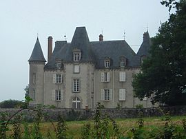 The Chateau de la Judie, in Saint-Martin-le-Vieux
