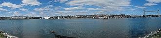 Chelsea Creek - View across toward Chelsea from East Boston.