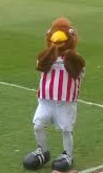 Cheltenham Town F.C. - Whaddney, Mascot of Cheltenham Town