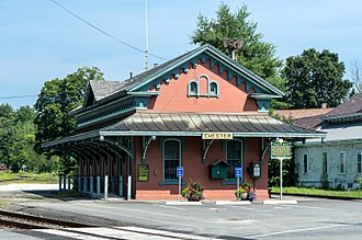 Chester, Vermont - Old train station