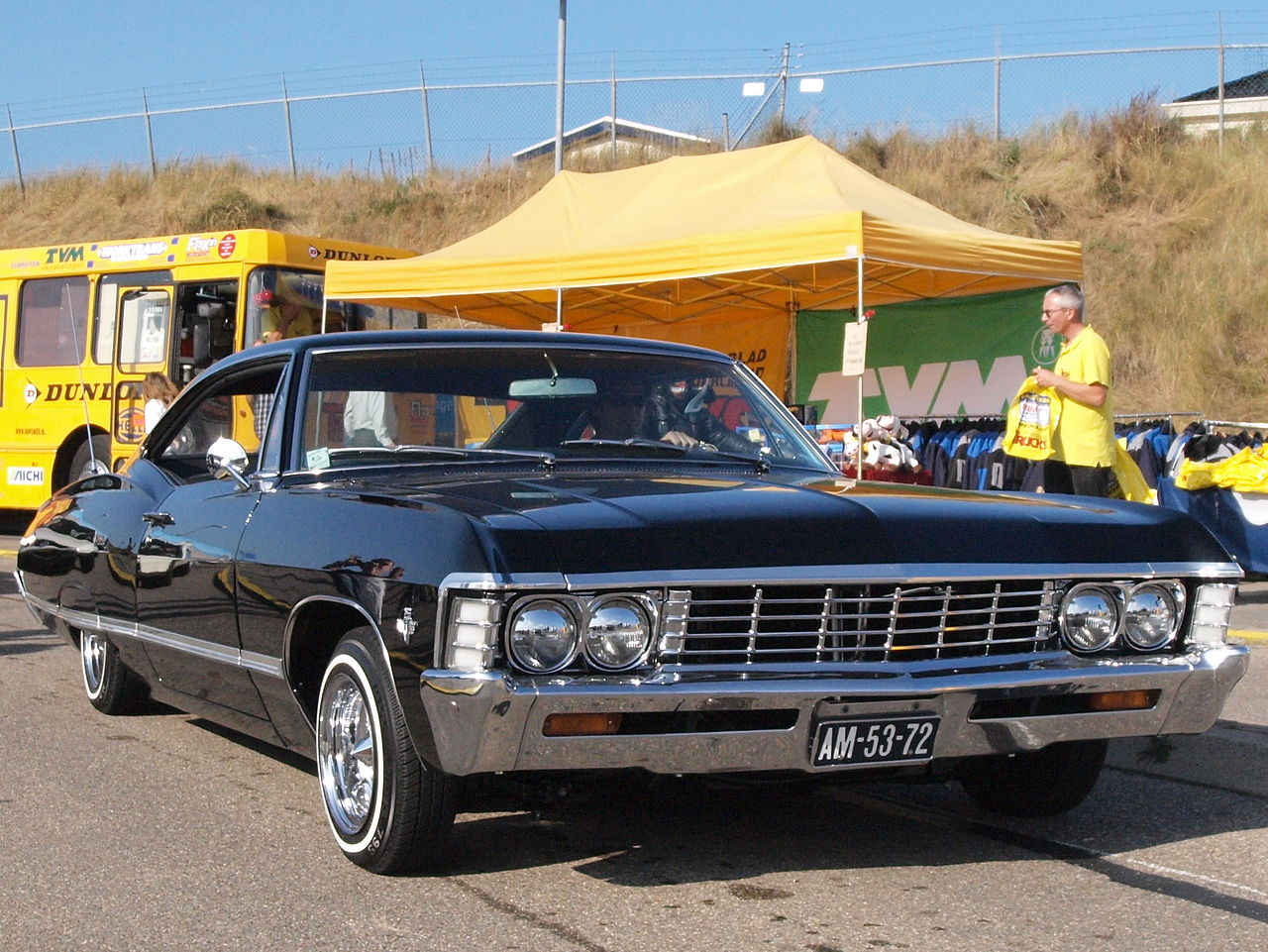 File:Chevrolet Impala Sport Coupe dutch licence registration AM-53