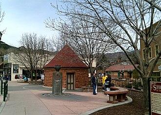 Manitou Springs, Colorado - Image: Cheyenne Spring House 4