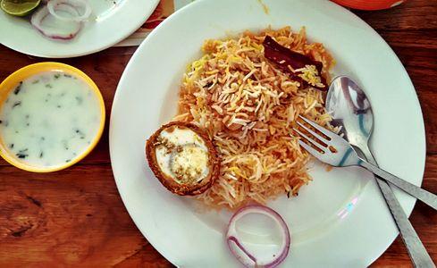 Chicken Biryani and Nargisi Kofta with Raita.jpg