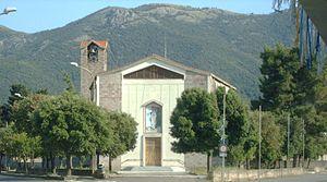 Gonnosfanadiga - Church of beata vergine di Lourdes.