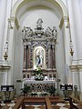 Chiesa di Santa Giustina, interno (Pernumia) 09.jpg
