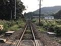 Chikuho Main Line on south side of Chikuzen-Uchino Station 2.jpg