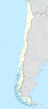 2010 Copiapó mining accident is located in Chile