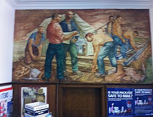 "Chillicothe, Illinois - ""Rail Roading"" by Arthur Herschel Lidov"