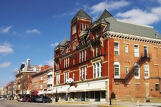 Chillicothe, Ohio - Business district
