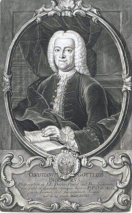 Christian Gottlieb Buder