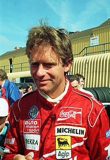 Christian Danner German racing driver