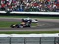 Christian Klien and Nick Heidfeld 2006 Indianapolis.jpg