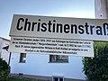 Christinenstraße, Karben, Schwester Christine Jordan.jpg