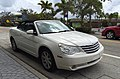 Chrysler Sebring convertible (third generation - JS) white Lantana 1of2.jpg