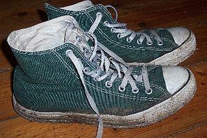 Ein Paar Converse-Chucks
