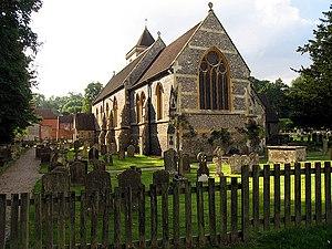 Speen, Berkshire - Image: Church, Speen geograph.org.uk 50314