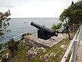 Church has a cannon (14014870847).jpg