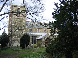 Willoughby, Lincolnshire - Image: Church of St Helena, Willoughby, Lincs geograph.org.uk 49744
