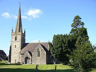 Whatley, Mendip - Image: Church of the Holy Trinity, Whatley, Mendip