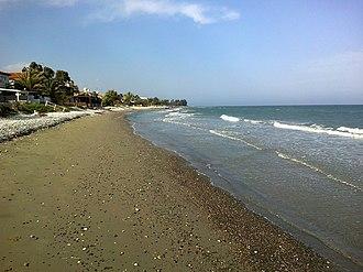 Meneou - Image: Chypre Meneou Plage panoramio