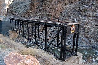 D & RG Narrow Gauge Trestle United States historic place