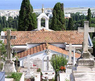 Russian Orthodox Cemetery, Nice - Image: Cimetière russe Nice 2