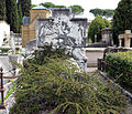 Cimitero dall'antella, sepolcreto di alberto giovannini con rilievi di raffaello romanelli, 1916, 01.JPG
