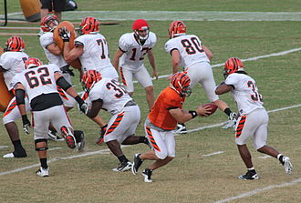 2011 Cincinnati Bengals season - Andy Dalton during training camp